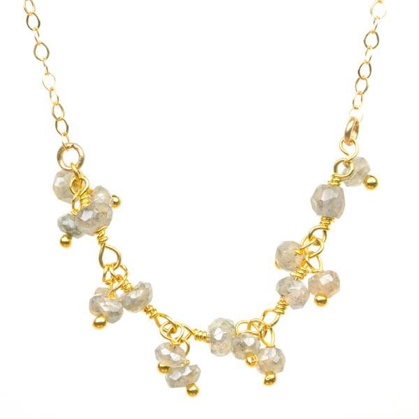 Labradorite Constellation Necklace (LBCONN15)